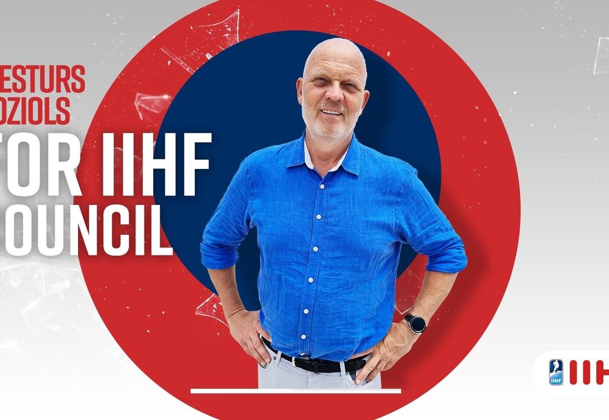 Viestura Koziola prezentācija IIHF kongresā